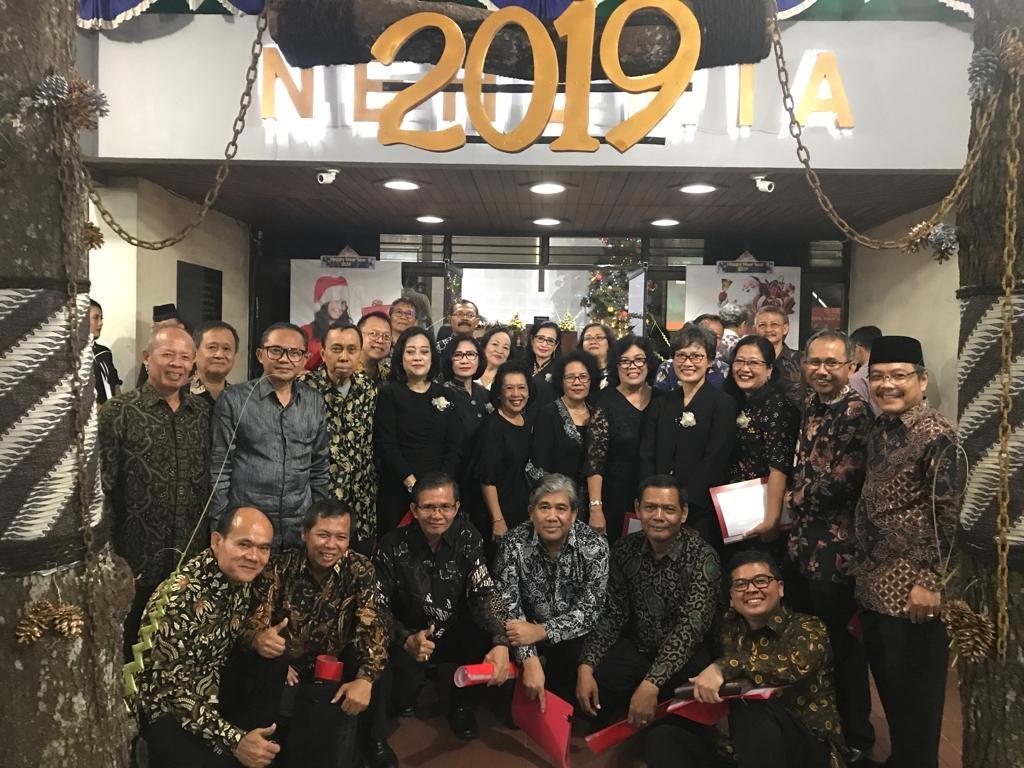 Perayaan Malam Tahun Baru 2019 GKJ Nehemia