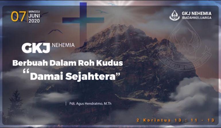 Damai Sejahtera (2 Korintus 13: 11-13)