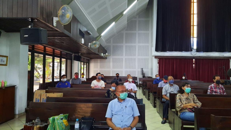 Rapat Pembentukan tim Adaptasi Kebiasaan Ibadah New Normal GKJ Nehemia – Sabtu 20 Juni 2020 (2)