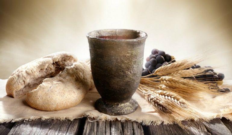 YESUS Memecah-mecahkan Roti Bagi Kita (Markus 6: 35-44)